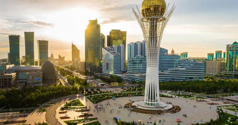 Conferentie in de Republiek Kazachstan