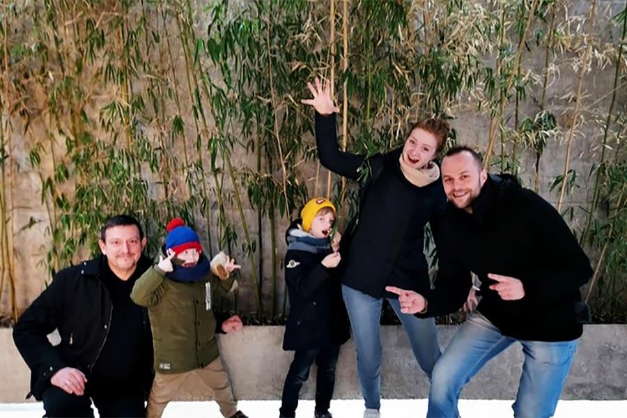 Het culturele programma was fascinerend en we gaven de voorkeur aan een bezoek aan Georgië met onze families.