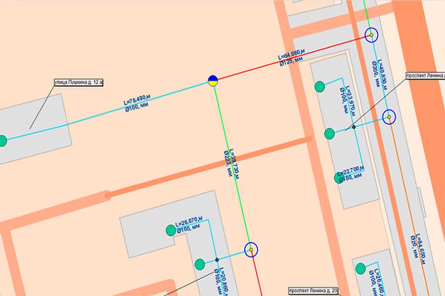 Interactieve GIS-modellen van netwerken en technische objecten ATM